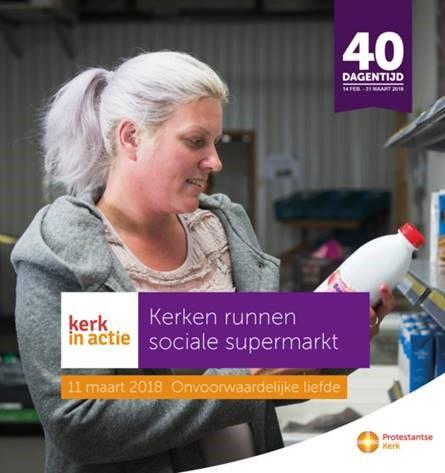 Kerken Almere runnen een sociale supermarkt
