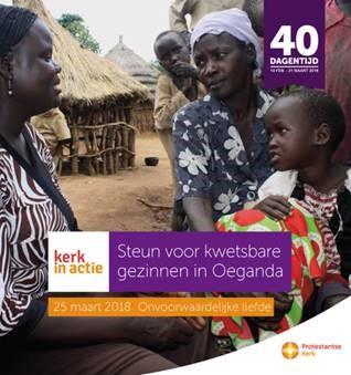 Steun voor kwetsbare gezinnen in Noord-Oeganda
